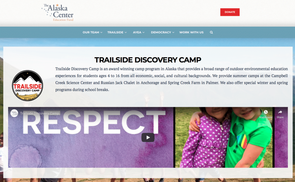 Interview With Victoria Long-Leather – Trailside Discovery Camp