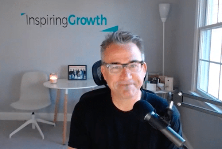 Interview With Mark P Fisher @ Inspiring Growth. Leadership, Storytelling And Inspiration.