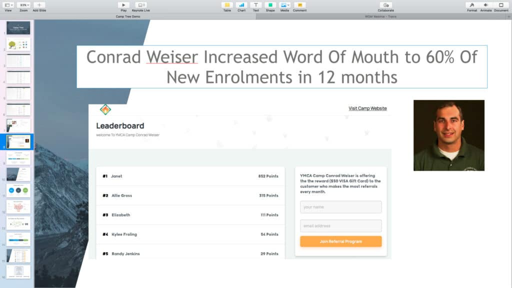 Case Study – How Camp Conrad Weiser Increased 'Word Of Mouth' To 60 % Of New Enrollments…