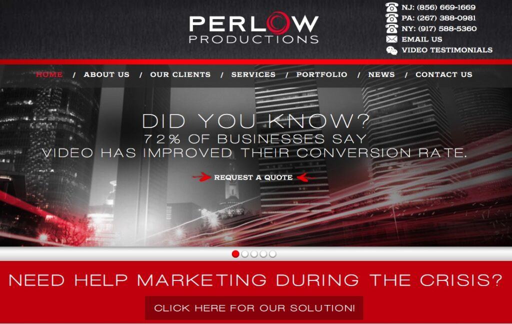 How And Why You Should Be Using Video In Your Marketing With Mike Perlow @ Perlow Productions